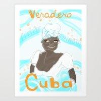 Bienvenido! Las Isla de Juventud Art Print