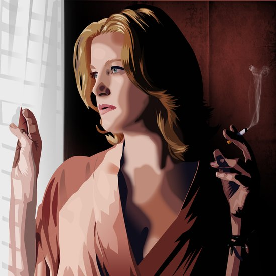 Breaking Bad Illustrated - Skyler White Art Print