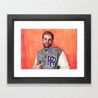 Dan Caffery by Alex Czysz Framed Art Print