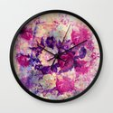 bouquet de roses Wall Clock