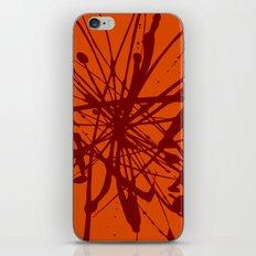 Bloom Red iPhone & iPod Skin