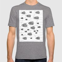 Similarity (underwater, … Mens Fitted Tee Tri-Grey SMALL