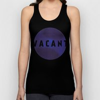 Vacant By Galaxy Eyes & … Unisex Tank Top