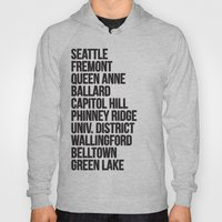 SEATTLE CITIES Hoody