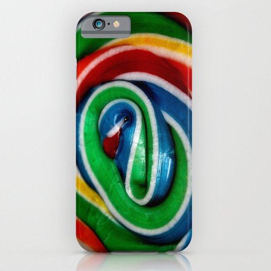 Swirl Rainbow Lollipop iPhone & iPod Case