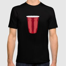 Clarity Cup Red (Big) Mens Fitted Tee Black SMALL
