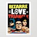 Bizarre Love Triangle: The Post-Punk Edition Art Print