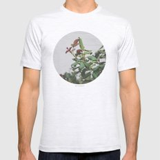 Rose Hips Mens Fitted Tee Ash Grey SMALL