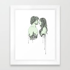 Naka-Choko Framed Art Print