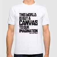 This World... Mens Fitted Tee Ash Grey SMALL