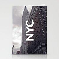 NYC Basic [8] Stationery Cards
