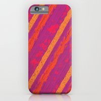 iPhone Cases featuring Stripes Pink II by Mr and Mrs Quirynen