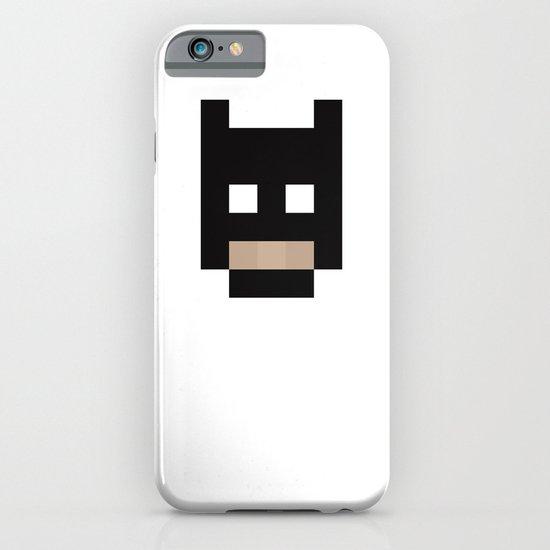 hero pixel black iPhone & iPod Case