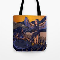 Medusa of Music meets Lilith Tote Bag