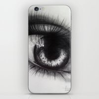 Eye Sketch 1  iPhone & iPod Skin
