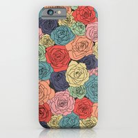 iPhone & iPod Case featuring VINTAGE ROSES by bows & arrows