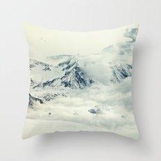 Frozen Planet Throw Pillow