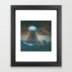 INVERTED DIRT (09.13.15) Framed Art Print