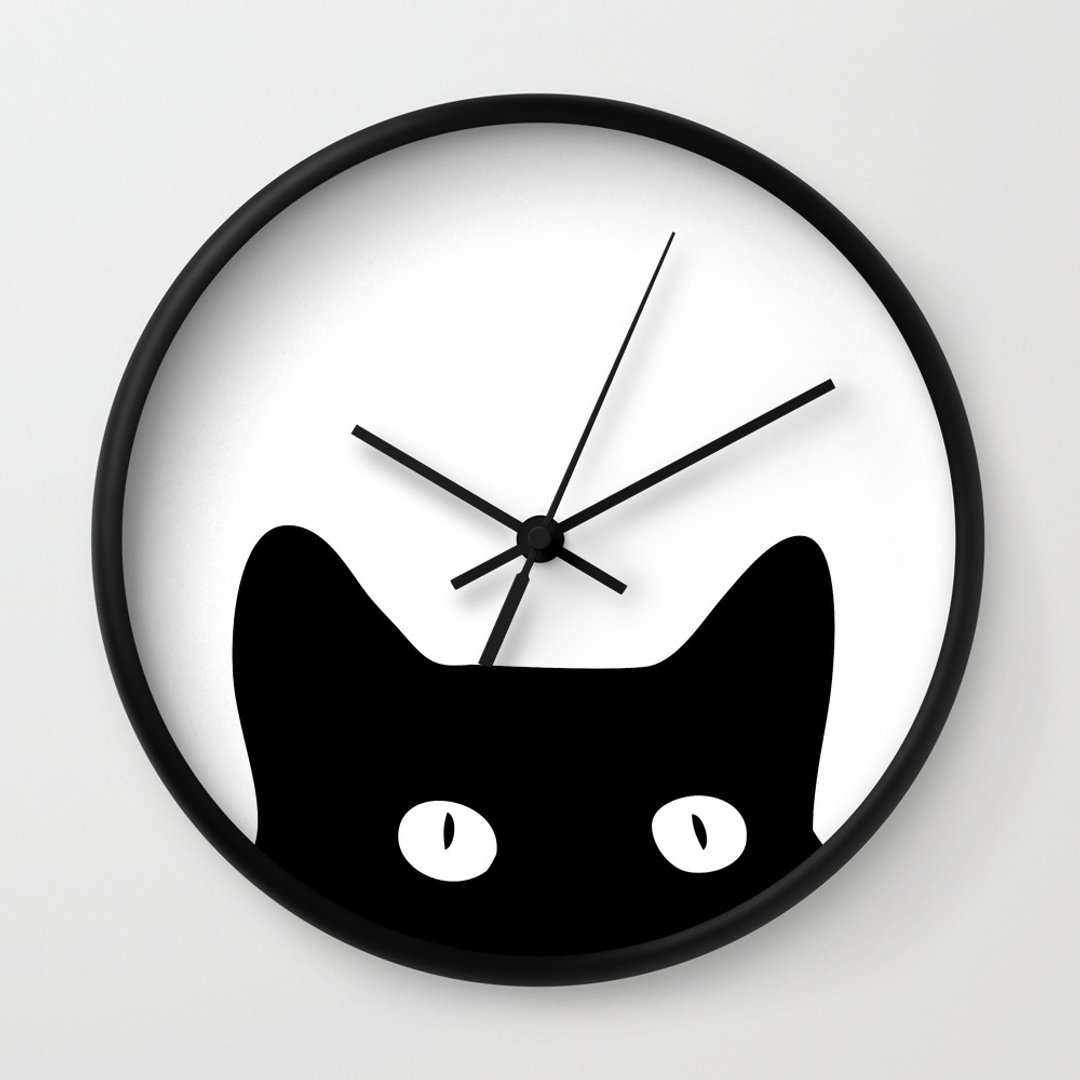 Graphic Design Wall Clocks Society6