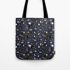 Galaxy ( Gold And Silver… Tote Bag