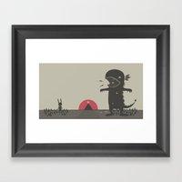 BEAUTIFUL  :D Framed Art Print