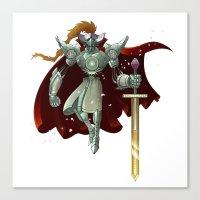 King Arthur Canvas Print