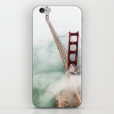 Golden Gate Bridge In Sa… iPhone & iPod Skin