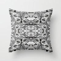 Madonnaguar Print Throw Pillow