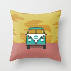 Summer Buggin' Throw Pillow