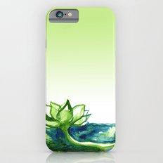Green Lotus iPhone 6 Slim Case