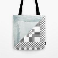 Waves/grid #8 Tote Bag