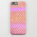 Fuschia - Chevron iPhone & iPod Case