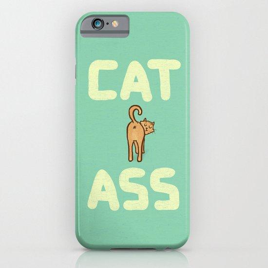 Cat Ass iPhone & iPod Case