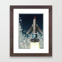 Thunderbird 1 Framed Art Print
