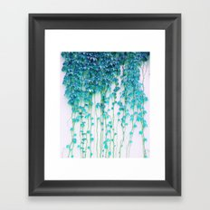 Average Absence #society6 Framed Art Print