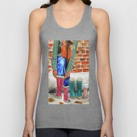 Autumn shoes Unisex Tank Top
