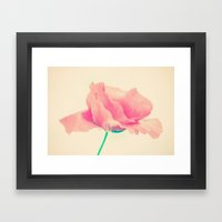 Poppy Art  Framed Art Print