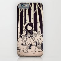 iPhone & iPod Case featuring Lil Red by Ellen Su
