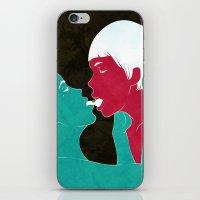Future Lovers-no.2 iPhone & iPod Skin