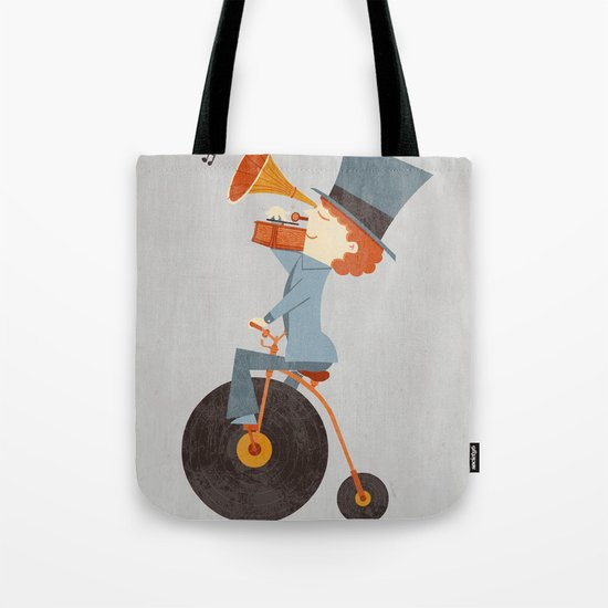 Rolling Old School Tote Bag