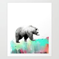Wild No. 1 // Bear Art Print