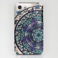Morning Mist Mandala iPhone (3g, 3gs) Slim Case