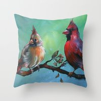 Interruptions Throw Pillow