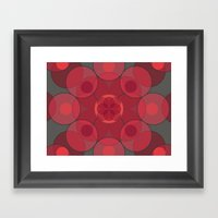 Circle Star 4x8 Framed Art Print