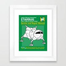 Starbug Service and Repair Manual Framed Art Print