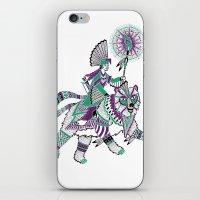 The Bear Rider iPhone & iPod Skin