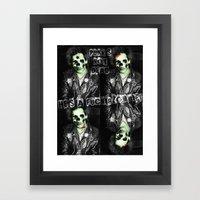 SidZOMBIE Framed Art Print