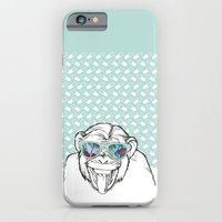 monkey iPhone & iPod Cases featuring Monkey by naidl