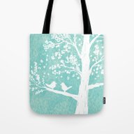 Birds In A Tree Tote Bag