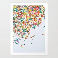 Sprinkles Party II Art Print